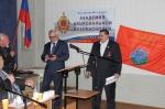 Президент Академии национальной безопасности генерал Стефанов Александр Васильевич награждает целителя Алексея орденом