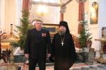 2017 год настоятель монастыря Симеона Верхотурского игумен Иераним и целитель Алексей Михайлович
