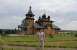 Верхотурье. Храм во имя Всех Святых, в земле Сибирской просиявших, расположен близ камня, где молился Святой Семион Верхотурский